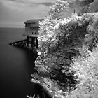 Tenby Lifeboat Station -  Infra Red by rennaisance