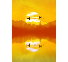 takodana sunset Photographic Print