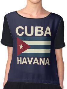 Cuba havana Chiffon Top