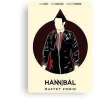 Hannibal 110: Buffet Froid Canvas Print
