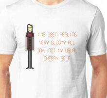 The IT Crowd – Not My Usual Cheery Self Unisex T-Shirt