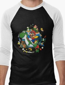 Super Mario World Men's Baseball ¾ T-Shirt