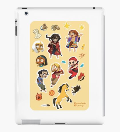☆CHIBI 2D-DWA ALL STARS☆ iPad Case/Skin