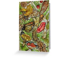 Forest mix Greeting Card