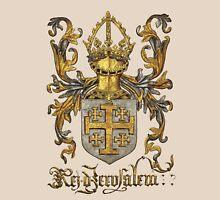 Kingdom of Jerusalem Coat of Arms - Livro do Armeiro-Mor Unisex T-Shirt