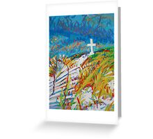 Beach Cross Greeting Card