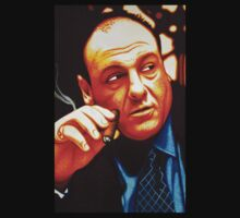 Tony Soprano James Gandolfini Tribute by JMCSharpieArt