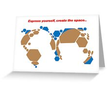 CONNOISSEUR IN MOTION Greeting Card