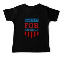 bartlet for america Baby Tee