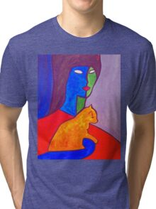 Watchful Eyes Tri-blend T-Shirt