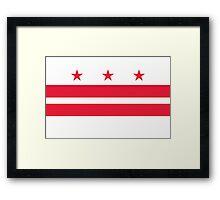 WASHINGTON D.C Framed Print