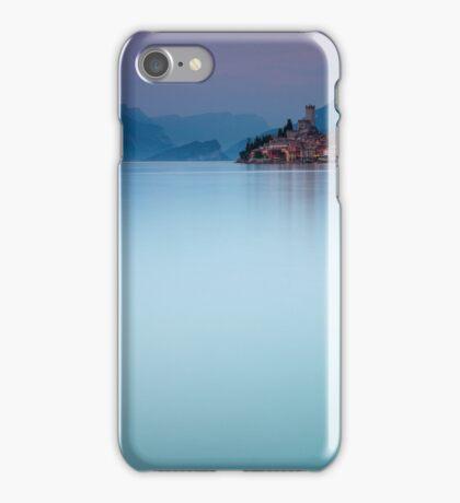 Night Falls #1, Malcesine Italy iPhone Case/Skin