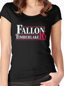 Fallon Timberlake 2016 Women's Fitted Scoop T-Shirt