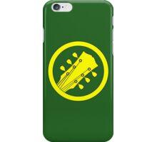 Guitar player yellow iPhone Case/Skin