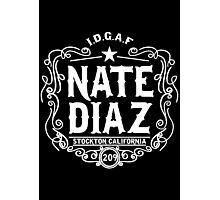 Nate Diaz Photographic Print