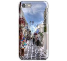 Mykonos Shops iPhone Case/Skin