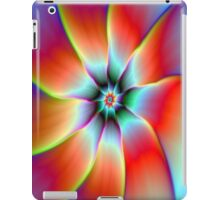 Flower in Red Orange and Yellow iPad Case/Skin