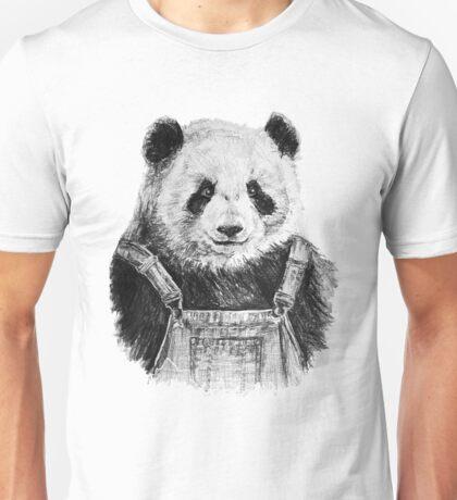 Pandas like dungarees  Unisex T-Shirt