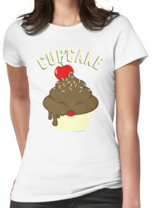 cupcake <3 Womens Fitted T-Shirt