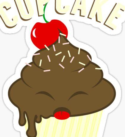 cupcake <3 Sticker