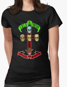 Guts N' Corpses Womens Fitted T-Shirt