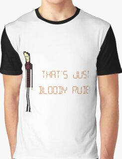 The IT Crowd – That's Just Bloody Rude! Graphic T-Shirt