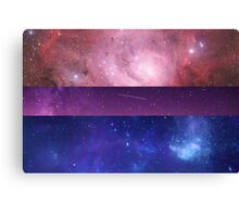 Space Bi Canvas Print