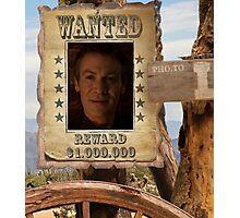 Buffy Ethan Rayne Wanted 1 Photographic Print