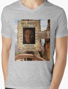 Buffy Ethan Rayne Wanted 1 Mens V-Neck T-Shirt