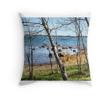 Trees of Bellevue Throw Pillow