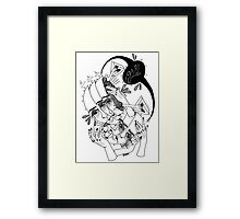 Head n Hands  Framed Print