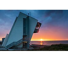 Fleetwood Observatory Sunset Photographic Print