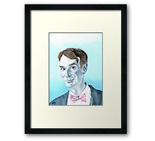 The Science Guy Framed Print