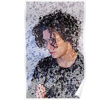 Matthew Healy The 1975 Patterned Image Poster