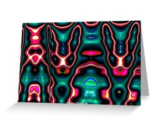 Alien Bunnies and Friends Greeting Card