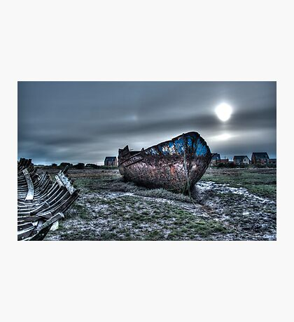 Wreck of the Eureka, Fleetwood Photographic Print