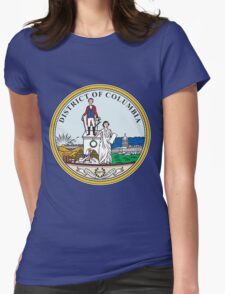 WASHINGTON D.C-2 Womens Fitted T-Shirt