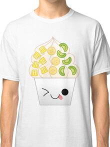 kawaii tropical frozen yogurt Classic T-Shirt
