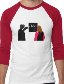 No - Black Books Men's Baseball ¾ T-Shirt