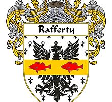 Rafferty Coat of Arms / Rafferty Family Crest by William Martin