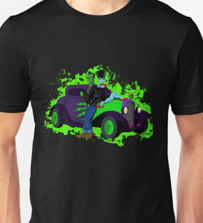 Hotrod Frankenstein Unisex T-Shirt