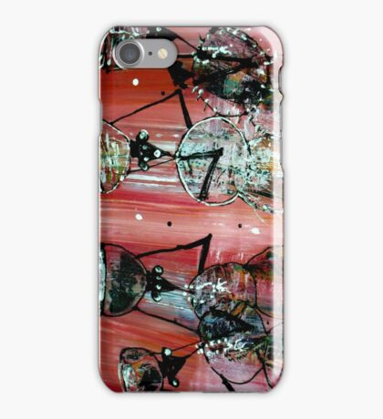 African painting - Print iPhone Case/Skin