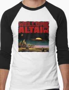 Altair IV... Welcome Men's Baseball ¾ T-Shirt