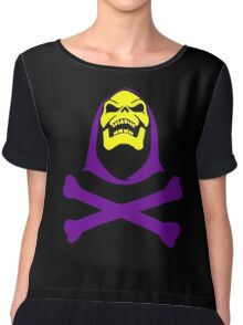 Skeletor Chiffon Top