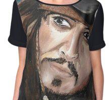 Capitan Jack Sparrow Chiffon Top