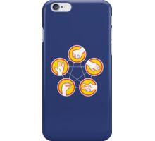 Rock Paper Scissors Lizard Spock - Yellow Variant iPhone Case/Skin