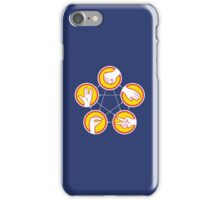 Rock Paper Scissors Lizard Spock - Yellow Variant iPhone Case/Skin