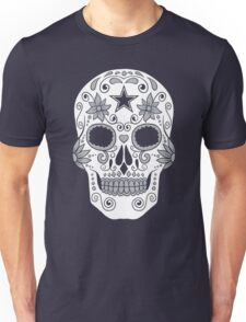 Dallas Sugar Skull Unisex T-Shirt
