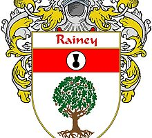 Rainey Coat of Arms / Rainey Family Crest by William Martin