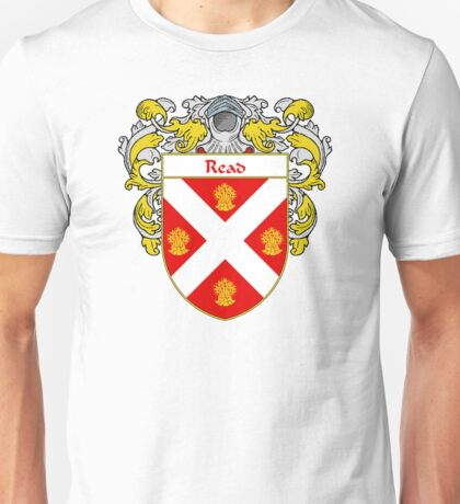 Read Coat of Arms / Read Family Crest Unisex T-Shirt